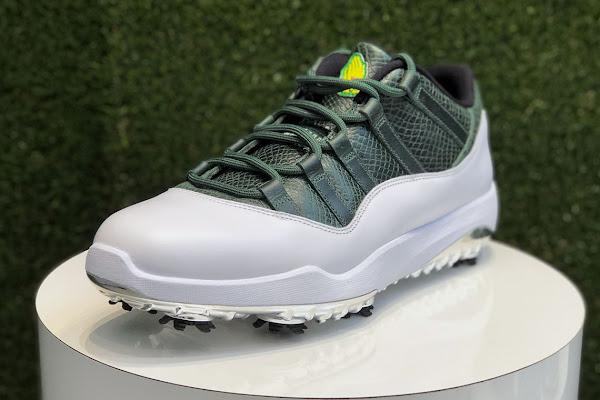 "c630319eaf80 An Air Jordan 11 Low Golf ""Masters"" Is Releasing On April 12th"