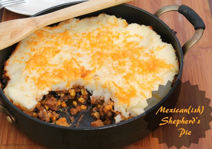 Mexican(ish) Shepherd's Pie