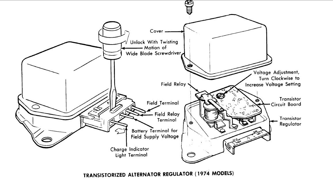 20 images ford alternator wiring diagram external regulator