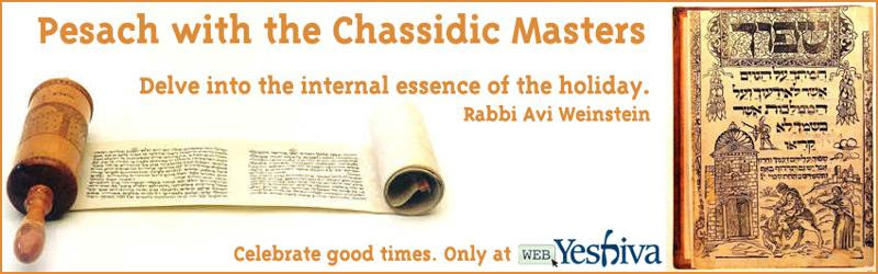 Pesach with Chassidic Masters