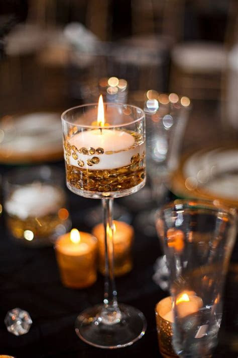 Fabulous Floating Candle Ideas for Weddings   Tablescapes