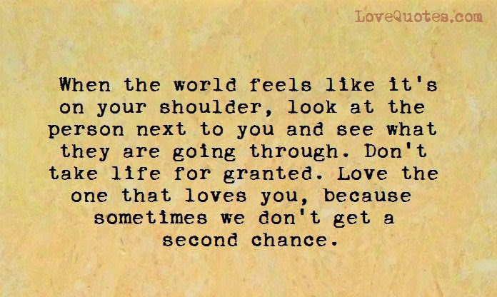 Get Here Quote About Second Chances In Love Soaknowledge