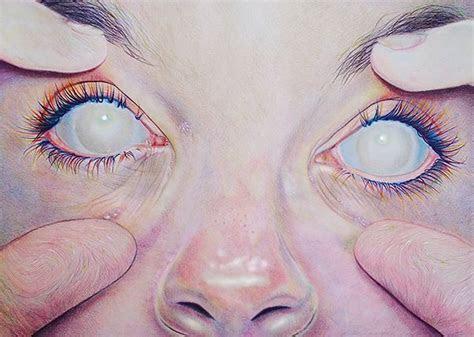 blind eyes  jennifer kelly hoskins  behance art