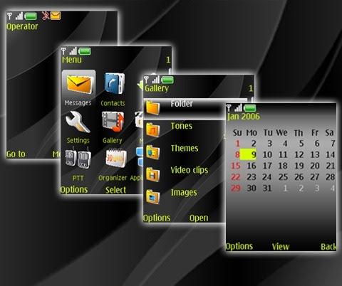 Download Gratis Tema Nokia N81 8GB Wallpaper