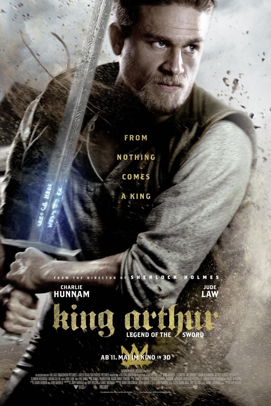 Resultado de imagem para movie poster king arthur legend of the sword