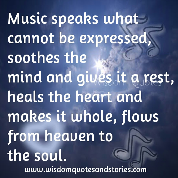 Music Speaks What Cannot Be Expressed Wisdom Quotes Stories