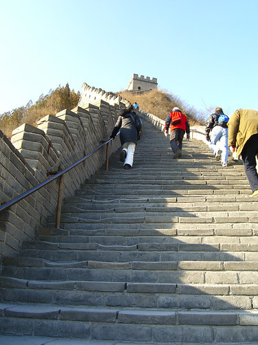 More stairs to climb