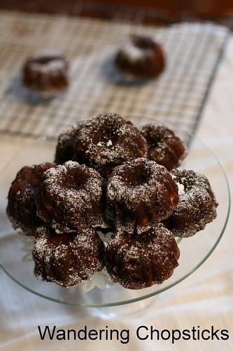 Persimmon Mini Bundt Cakes 2