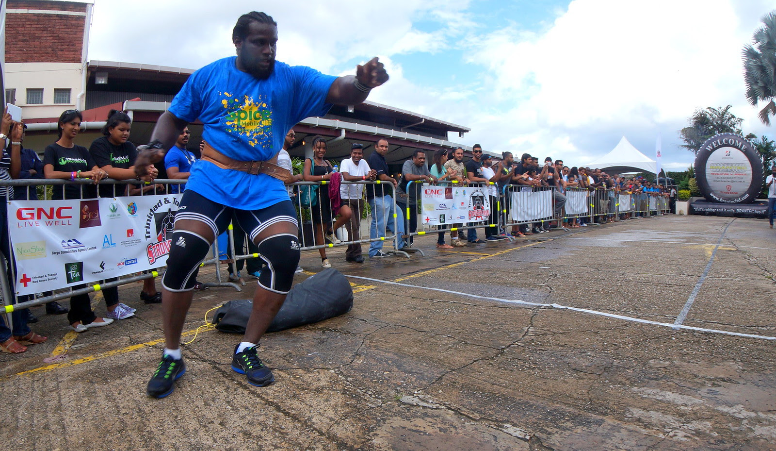 TRINIDAD AND TOBAGO'S STRONGEST MAN