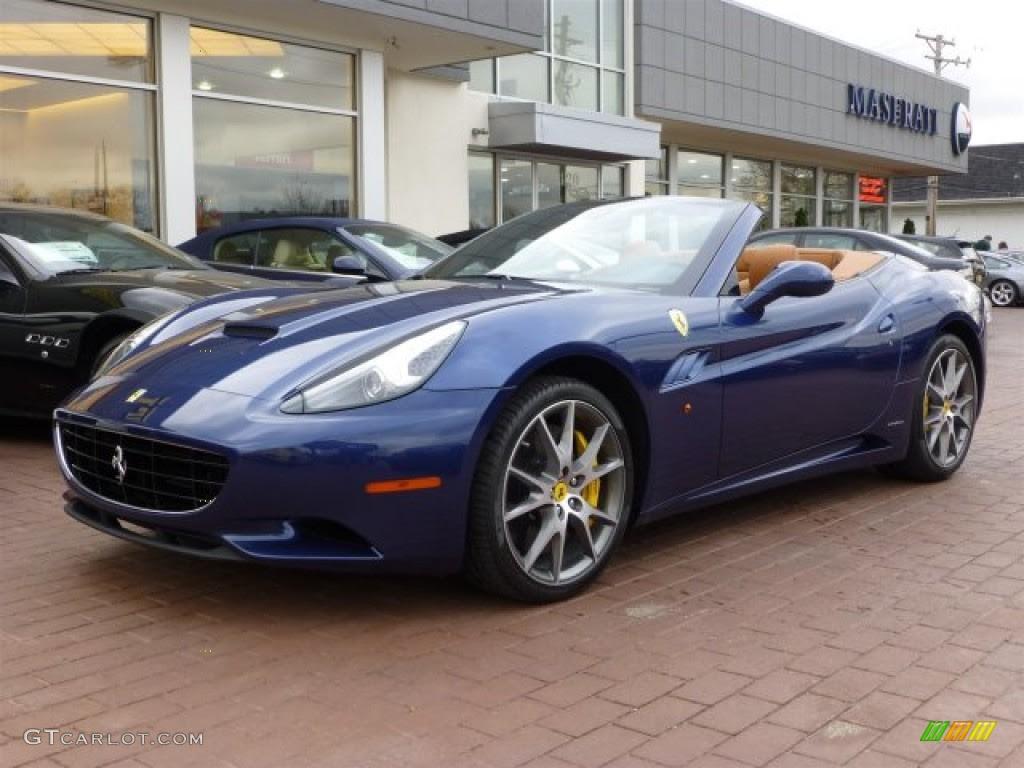 2013 Blu tour de France (Blue Metallic) Ferrari California ...