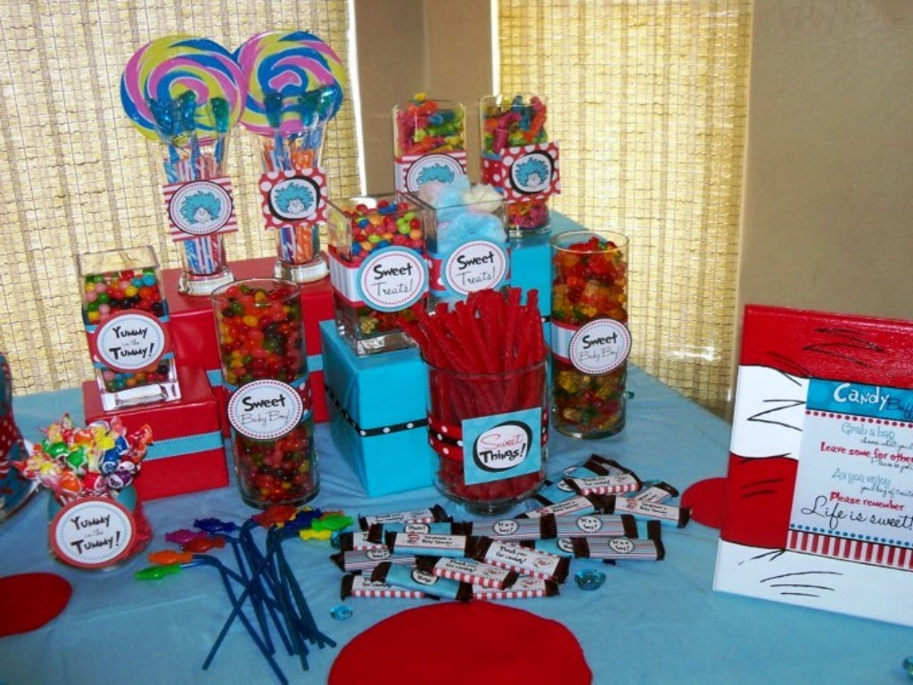 Dr Seuss Baby Shower Decorating Ideas Elitflat