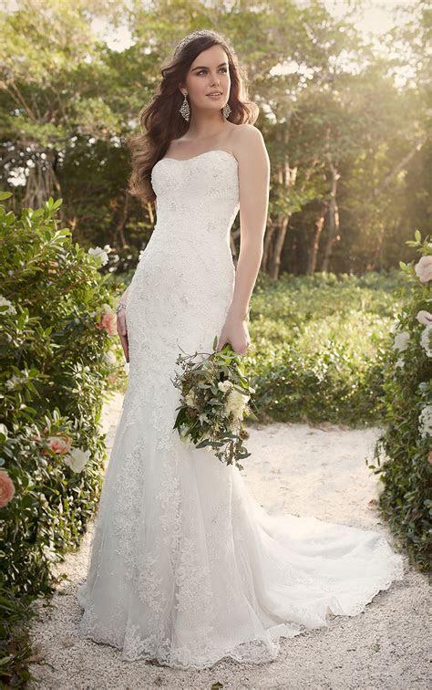 Strapless Lace Wedding Dresses   Essense of Australia