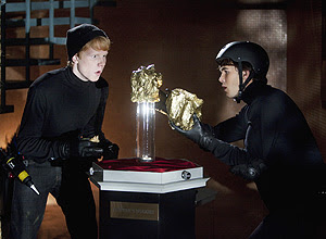 "Adam Hicks (Luther) e Huch Dano (Zeke), da série ""Zeke e Luther"""