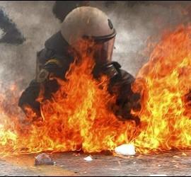 Disturbios en Grecia.