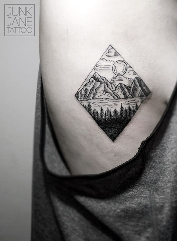 Deep and Super Cool Forest Tattoo Ideas (30)