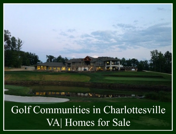 Golf Communities in Charlottesville VA Homes for Sale