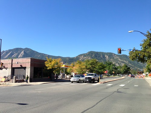 The mountains, Boulder