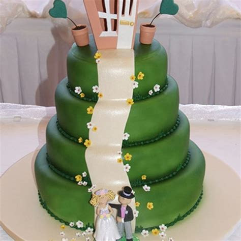 35 of the Most Outrageous Wedding Cakes Ever   slice.ca