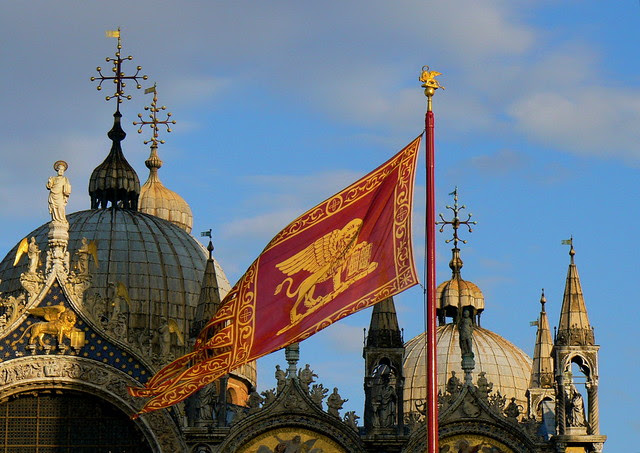 Domes and Flag
