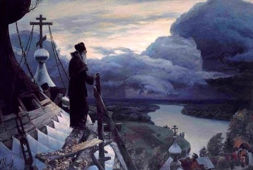 The enemy is approaching – it is absolutely necessary to pray. Sudden death can occur if there is no prayer in your life. The enemy sits on our left shoulder, and on our right, an angel, and everyone has their own book: good deeds. Cross yourself often! It is like a lock on a door! - Saint Matrona the Blind of Moscow