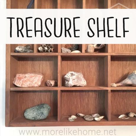 treasure nature shelf vintage for kids