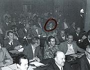 Franco Tentorio agli inizi della carriera politica