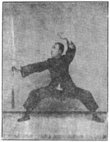 《昆吾劍譜》 李凌霄 (1935) - posture 58