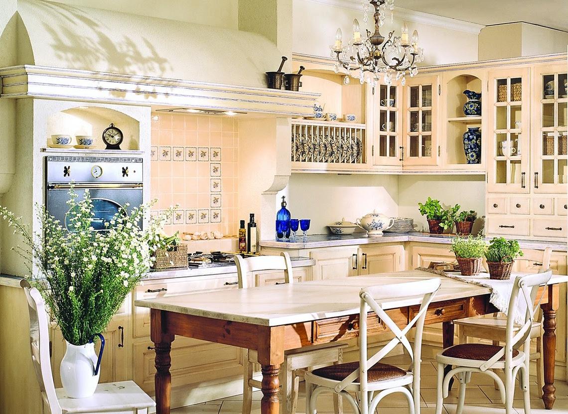 Kuchnia W Stylu Prowansalskim Blog O Wnętrzach Designie I