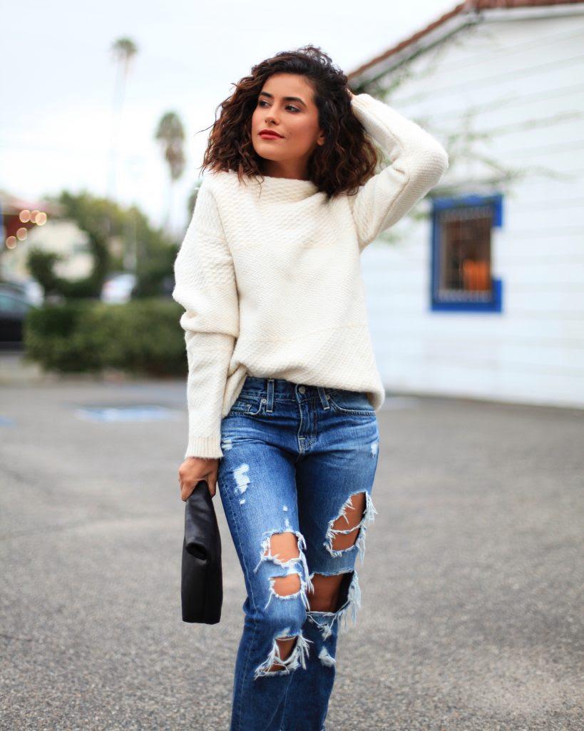 ripped boyfriend jeans a major essential  sazan