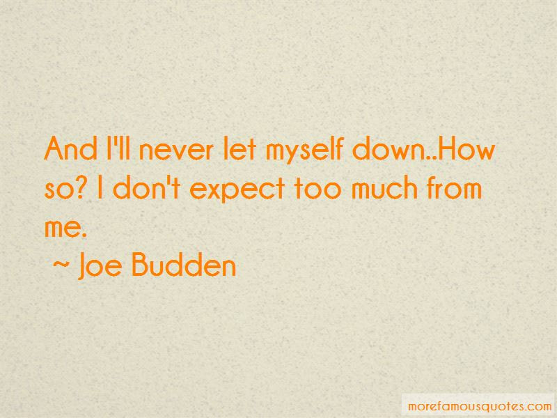 Dont Expect Too Much Quotes Top 17 Quotes About Dont Expect Too