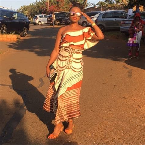 South African Celebrities in African Print Traditional
