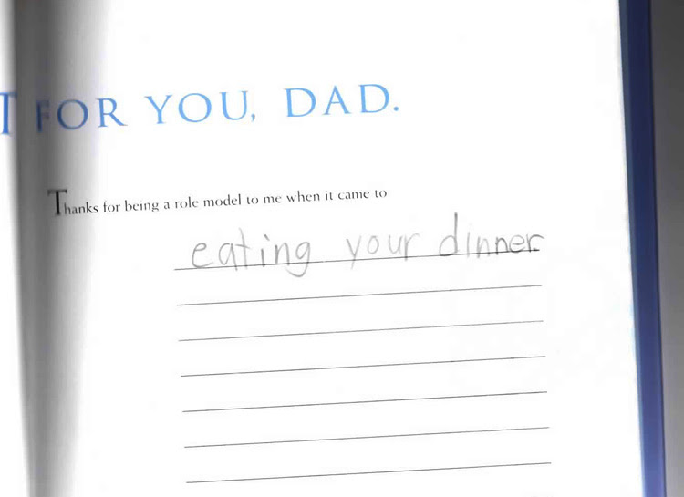 eating your dinner