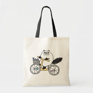 Goma The Firece Rider Organic grocery Tote Bag! bag
