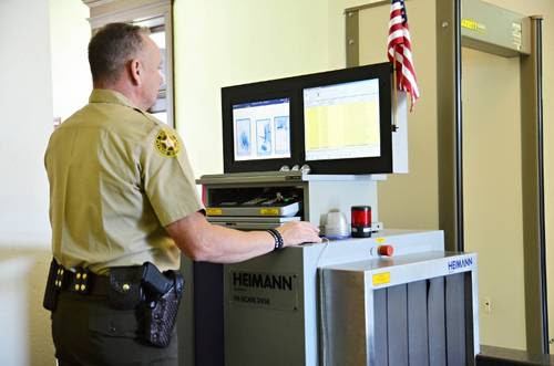 Image result for courthouse security check point