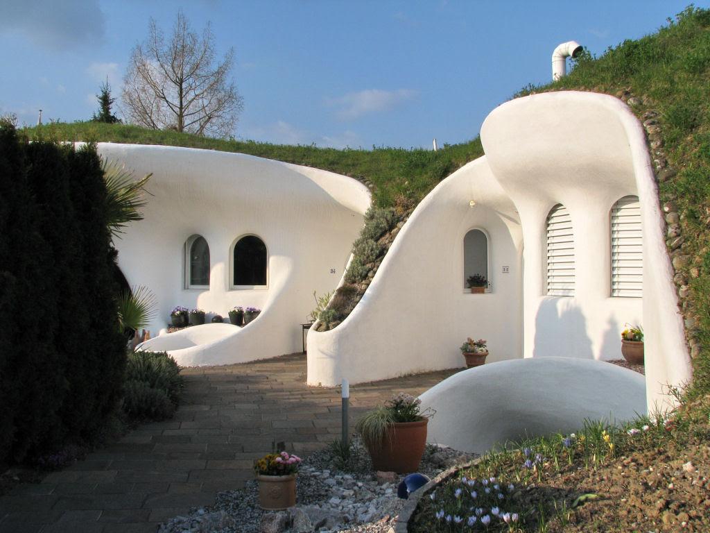 Casa oásis oculta sobre a terra na Suíça 12