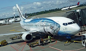 I took this photo at Sea-Tac in late May 2010 ...
