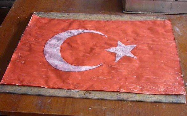 Ebruli Türk Bayrağı Nasıl Yapılır Hobitat