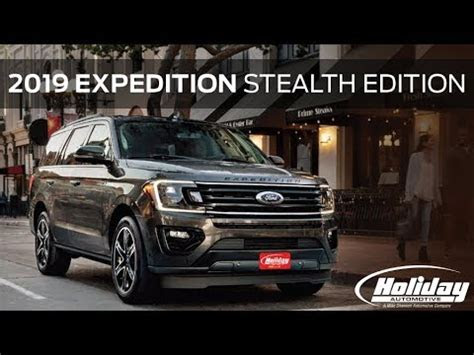 vehicle spotlight  ford expedition stealth edition