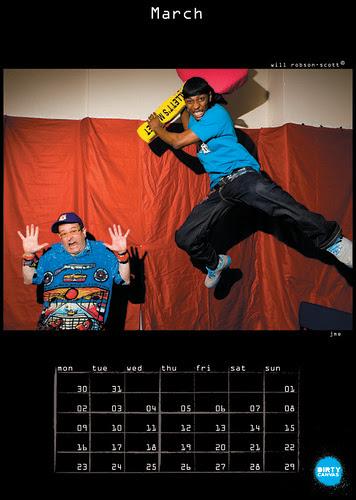Dirty Canvas 2009 Calendar: JME