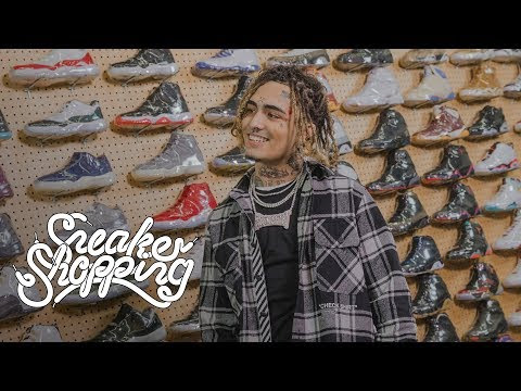 Lil Pump Goes Sneaker Shopping With 'Complex'
