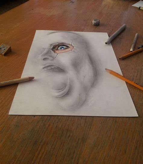 incredible  pencil drawings fubiz media
