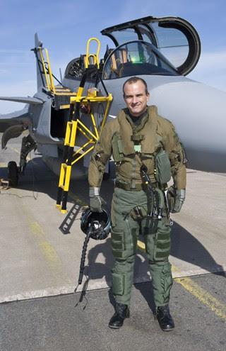 Coronel FAB Gripen (Foto: Arquivo Pessoal)