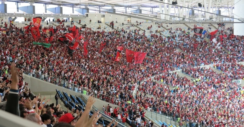 Flamengo e Maracanã: na base do #AcreditaEmMim?