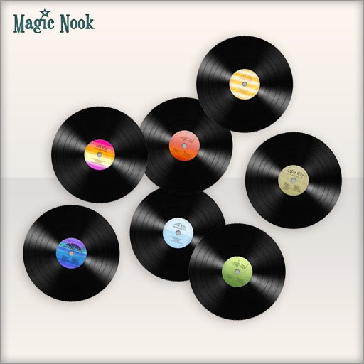 [MAGIC NOOK] Vintage DJ Earrings - Available textures