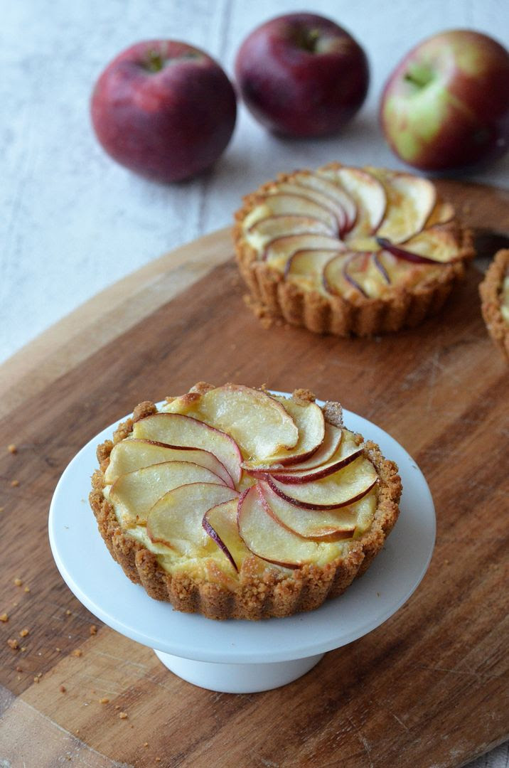Apple Custard Tarts