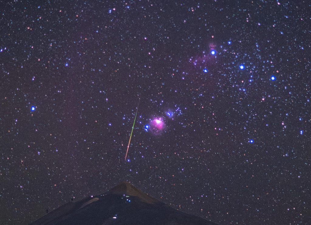 Tienen Colores Las Estrellas Fugaces Podemos Verlos A Simple Vista