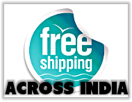 Free shipping to all destinations in india