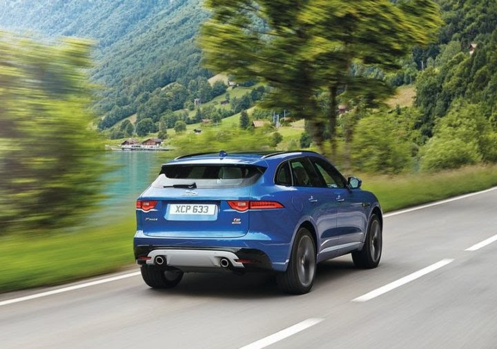 Jaguar F-Pace Launched in India at Rs. 68.40 lakh
