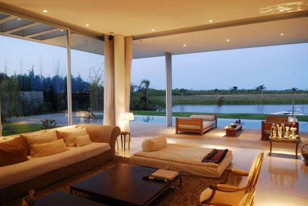 Open Plan living with views to the outdoors