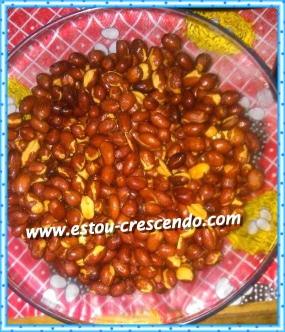 Amendoim torrado